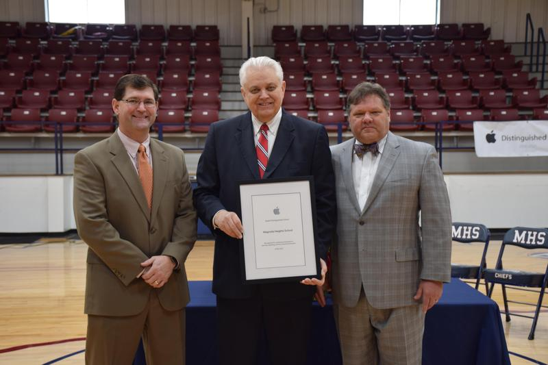 MHS Named Apple Distinguished School Featured Photo