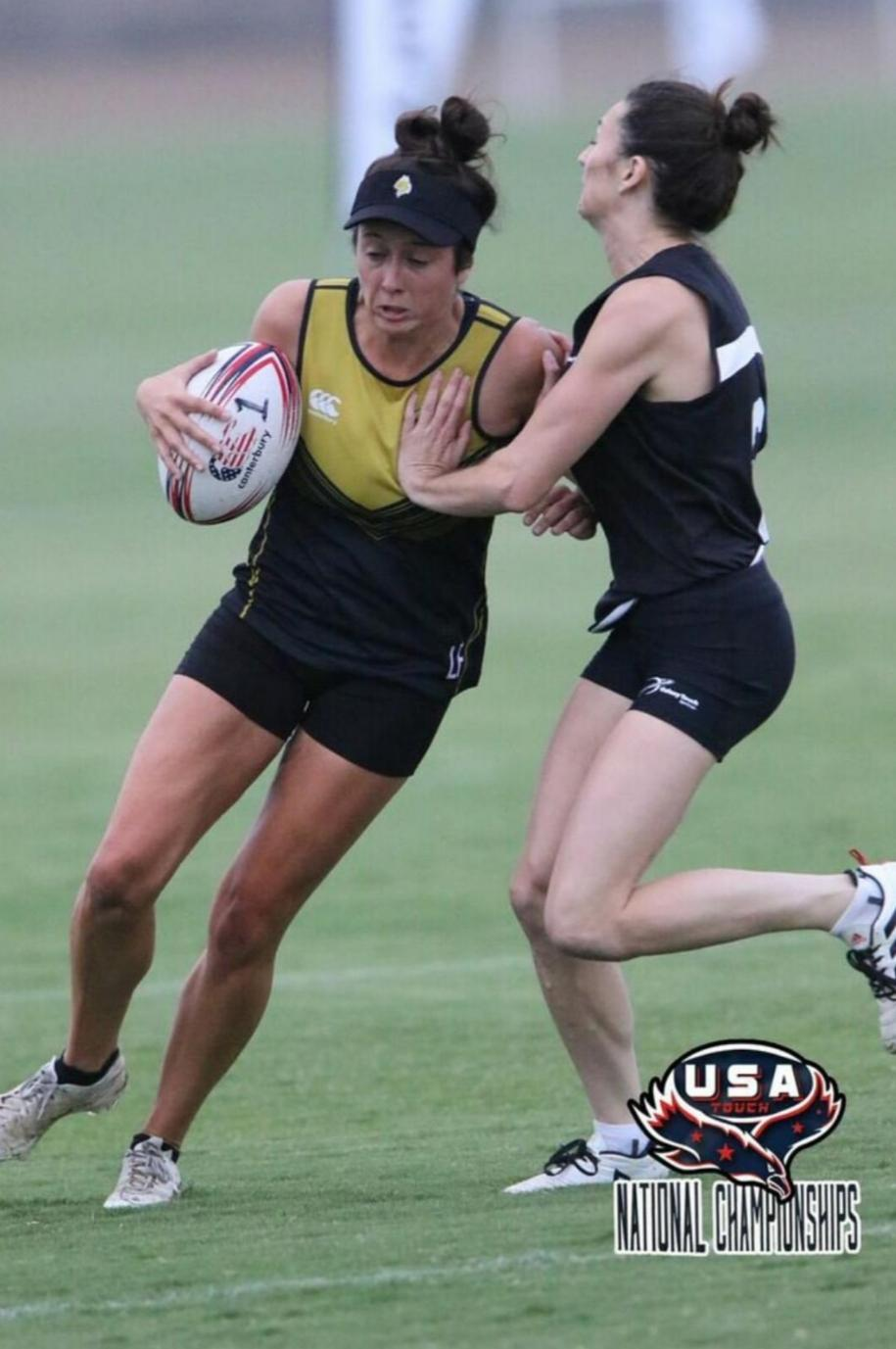 Lisa Finegan representing at the USA Nationals at The Olympic Training Center 2019