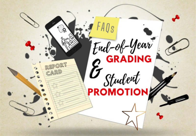 FAQs Regarding End-of-Year Grading Thumbnail Image