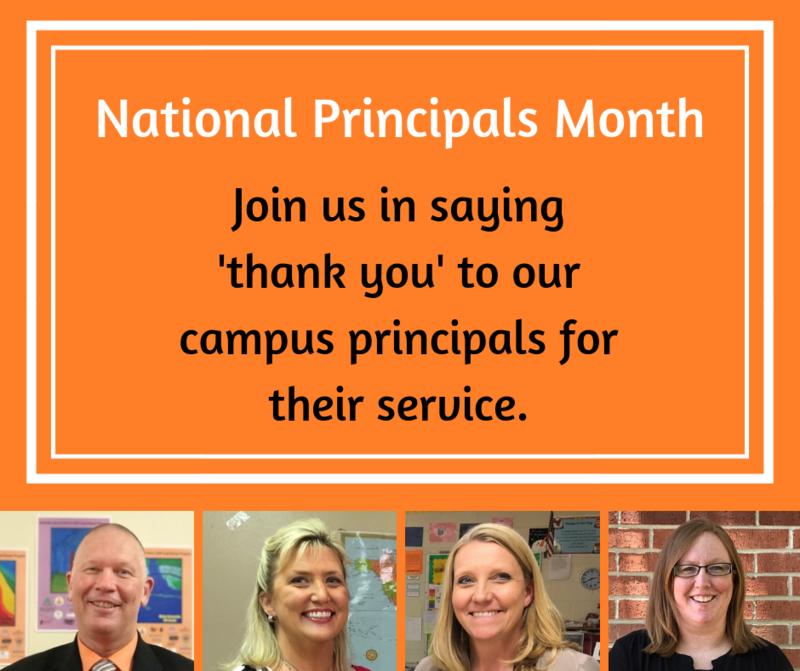 National Principals Month Thumbnail Image