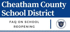 FAQ on school reopening