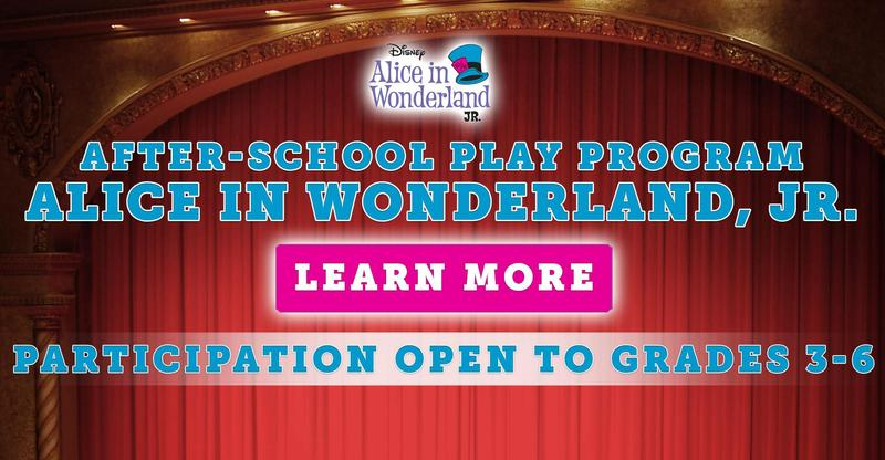 After-School Play Program: Alice in Wonderland, Jr.