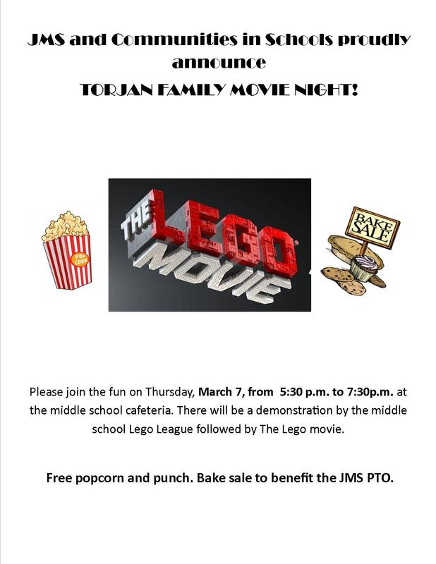 Lego Movie Flyer