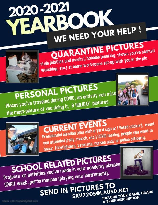 Yearbook needs your help!