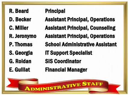 Staff Card