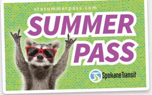 STA Summer Bus Pass
