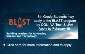 Apply to the BLAST program by Feb 10