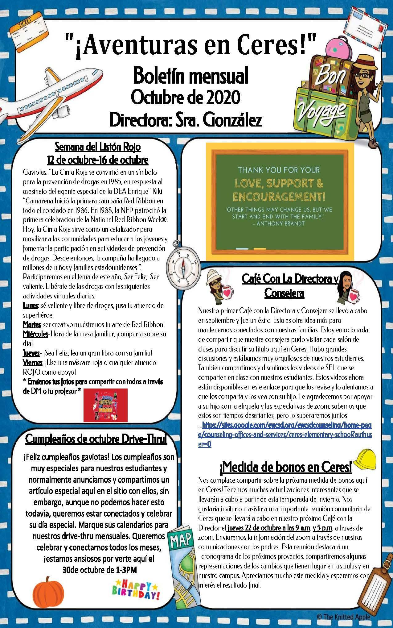 Oct Newsletter 2020