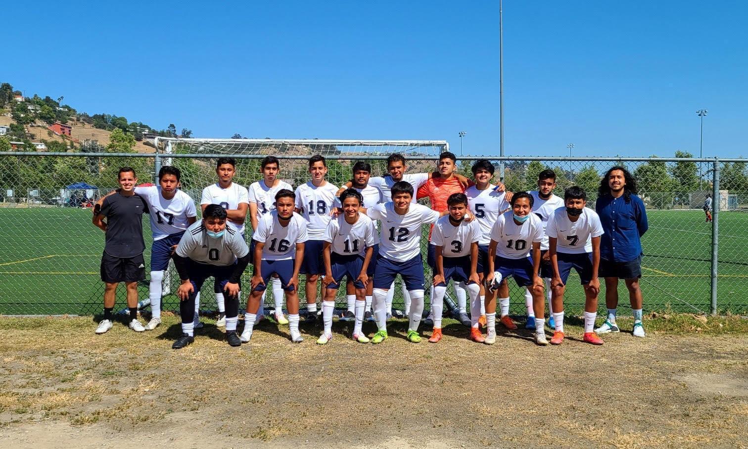 2020-2021 Boys Soccer Team
