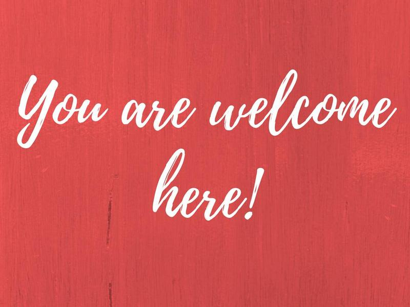You are welcome here! Thumbnail Image