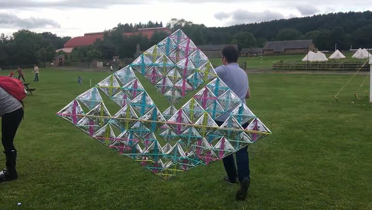 Tetrahedral Kite image
