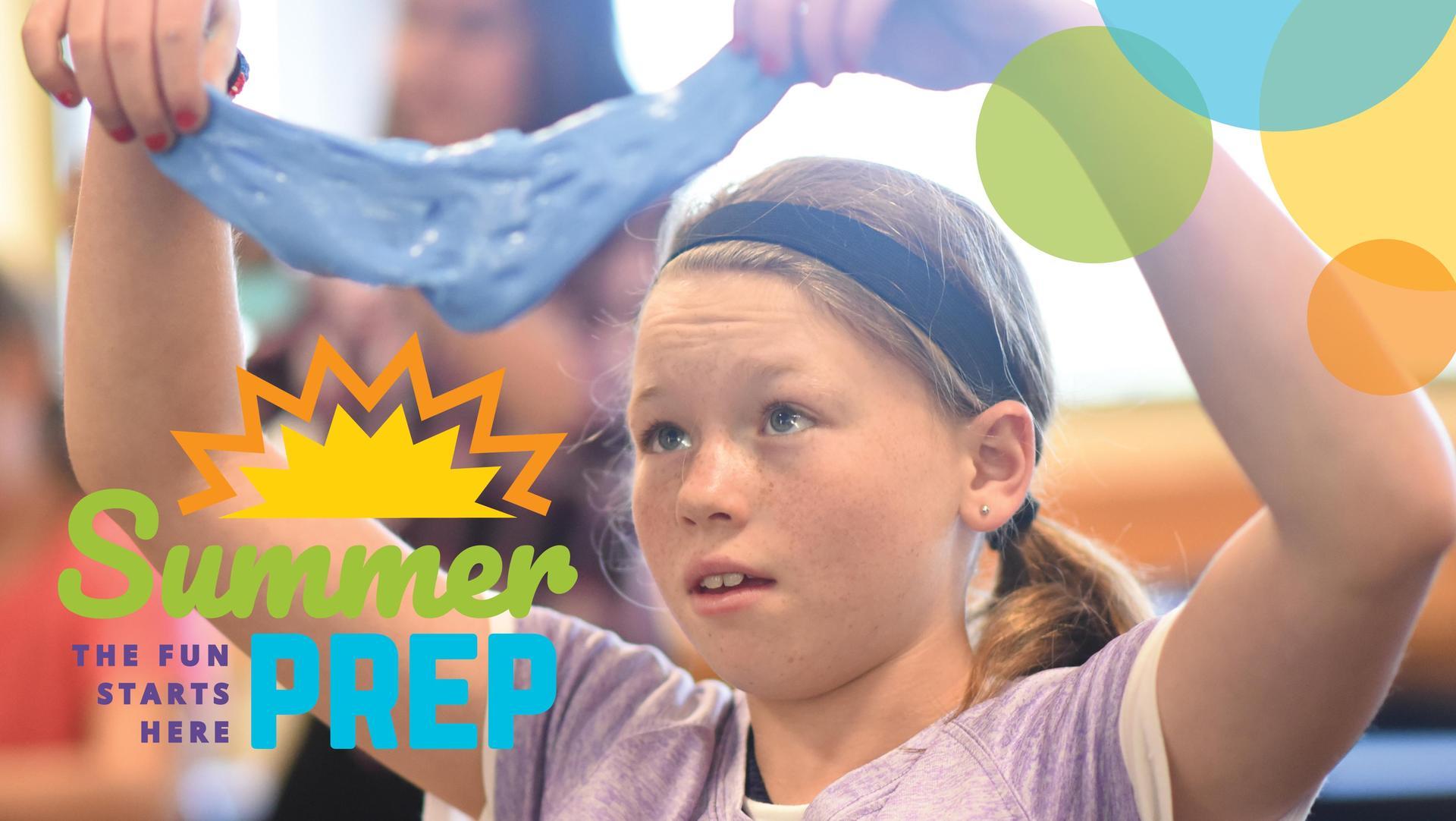 Girl in SummerPrep's Weird and Wacky Science class