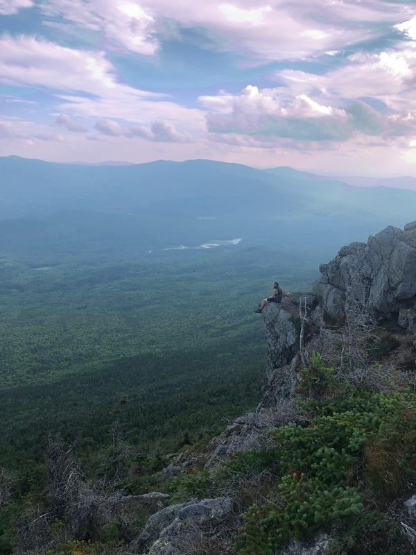 The Appalachian Trail hike gave Adam Holsted a chance to enjoy nature.