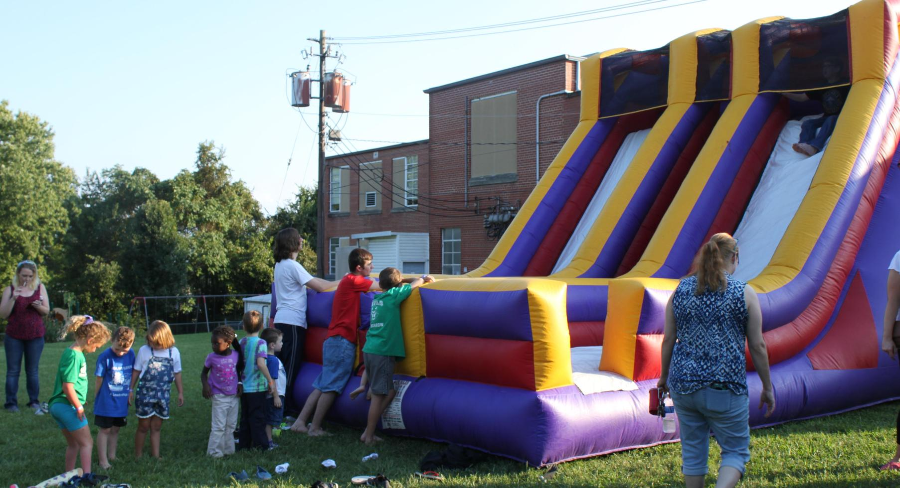 FunFestival for Education: Inflatable slide