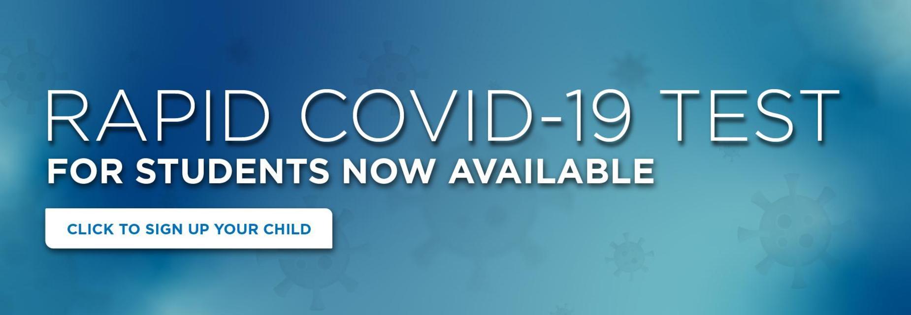 rapid COVID-19 test graphic