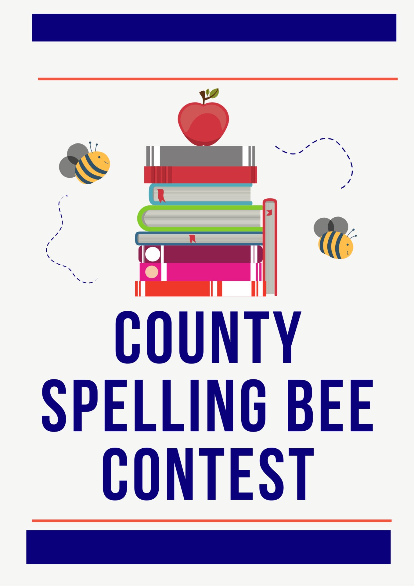 CCSD Spelling Bee graphic