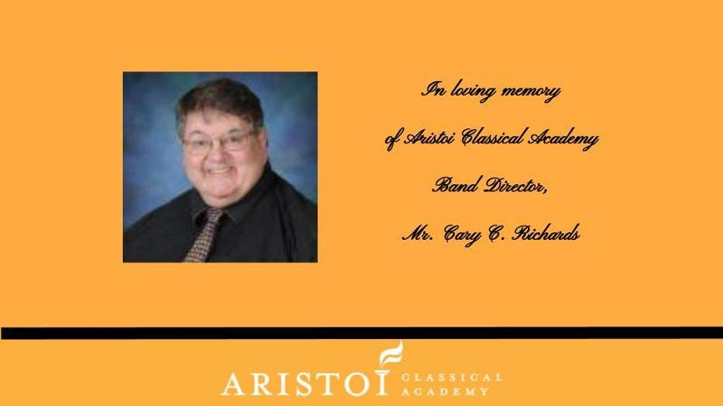 It is with heavy hearts that we share the passing of our colleague, teacher, and amazing friend, Mr. Cary C. Richards Featured Photo