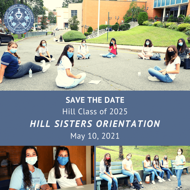 Class of 2025 Hill Sisters Orientation Featured Photo