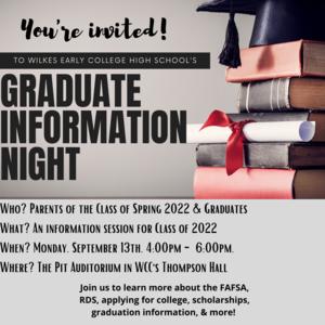 Graduate information night