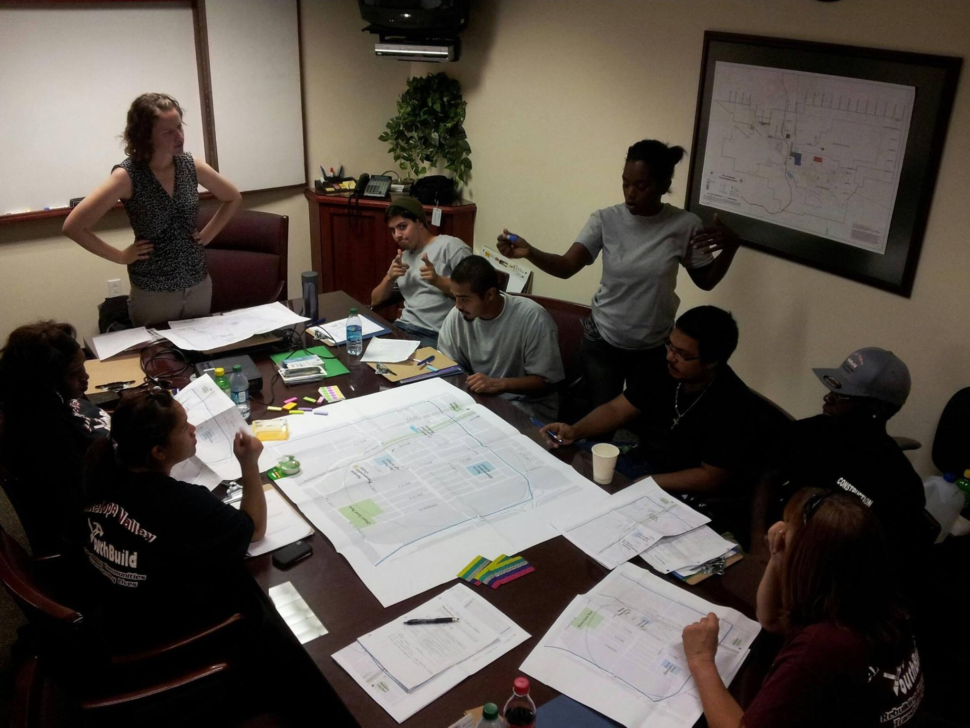 Palmdale students meet with city planners