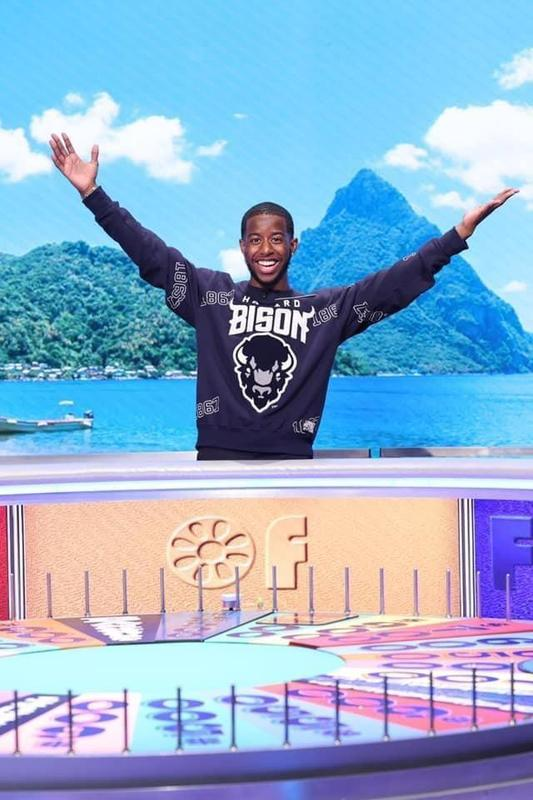 Mykel will be competing during College Week on ABC's Wheel of Fortune. Tune in tomorrow night, April 6th to see him compete. Mykel graduated from Diamond Ranch High School in 2018 and is now attending Howard University majoring in Communications. He is well known on our campus as a former drum major and active ASB member and has continued to visit and support Diamond Ranch High School when home from college. Mykel also attended Barfield Elementary School and Lorbeer Middle School.   Good Luck Mykel! Go Panthers and Bison!