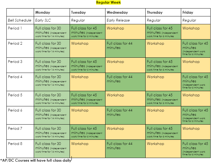 Remote Learning Bell Schedules Featured Photo