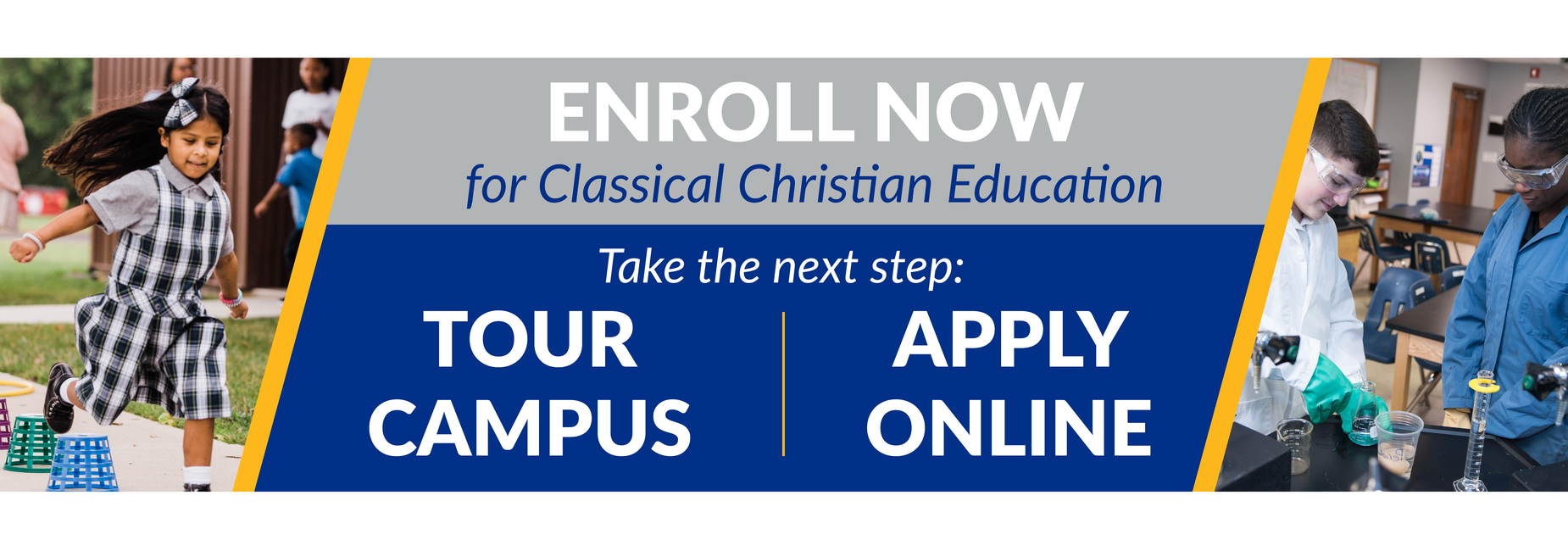 Tour Campus or Apply Online