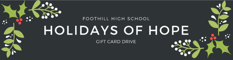 Holidays of Hope: Gift Card Drive Featured Photo