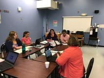 Teachers meet to plan great lessons