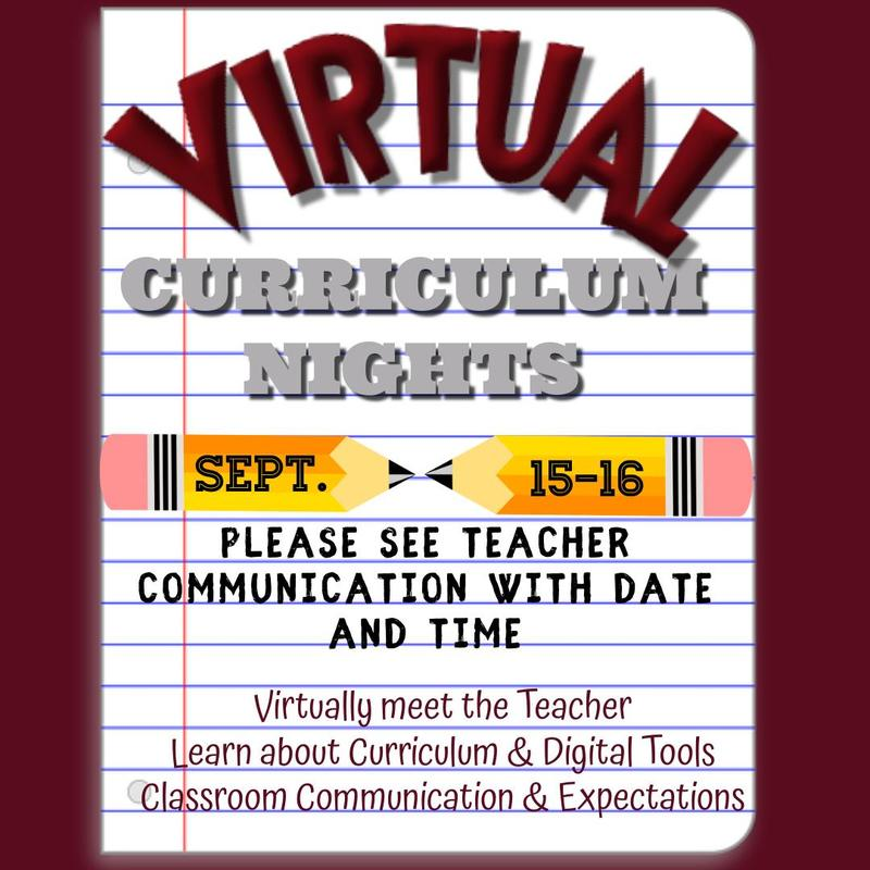 Virtual Curriculum Nights Featured Photo