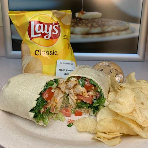 Crispy Chicken Ranch Wrap