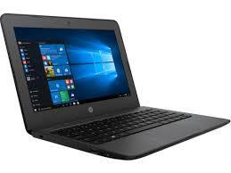 A picture of an HP Stream laptop