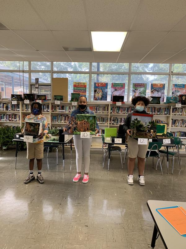6th Graders Place on Bridge to Terabithia Final Project Featured Photo