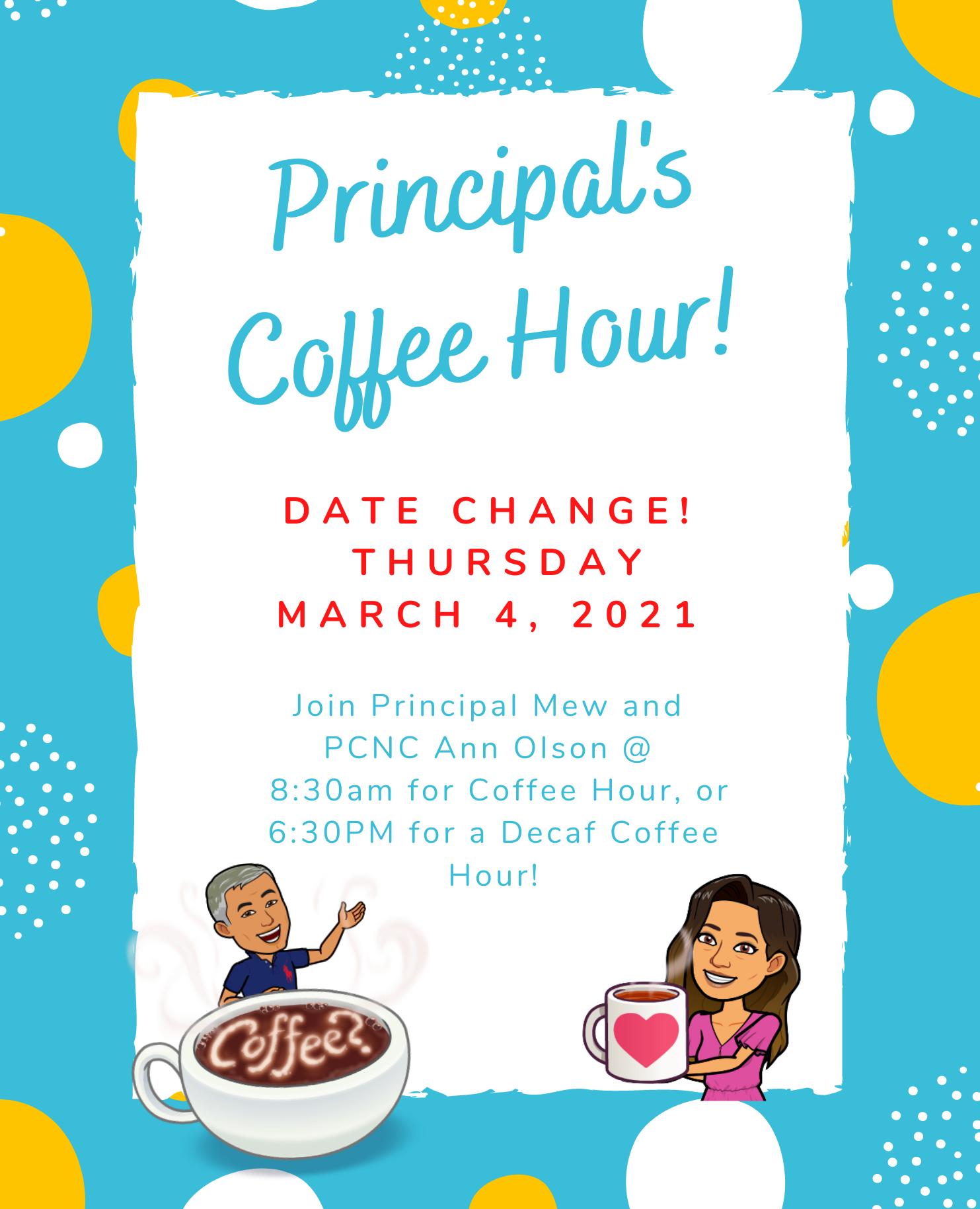 Principal's Coffee Hour