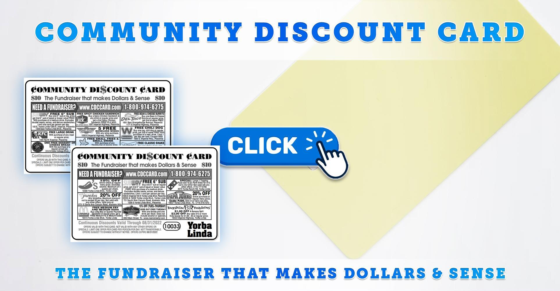 Community Discount Card