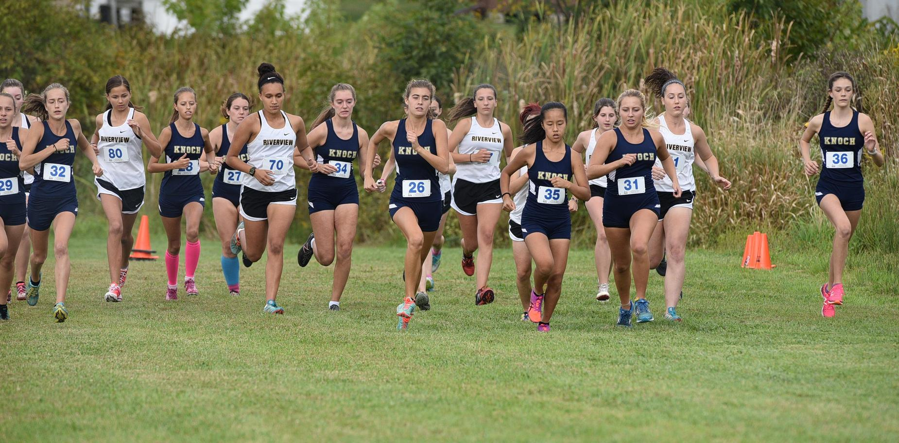 Knoch X Country runners