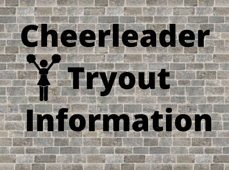 Cheerleader Tryout information