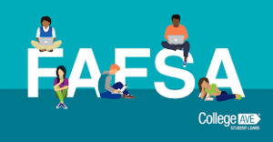 F A F S A logo with children sitting on and around various letters.