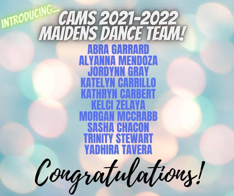 CAMS Maidens Dance Team Featured Photo