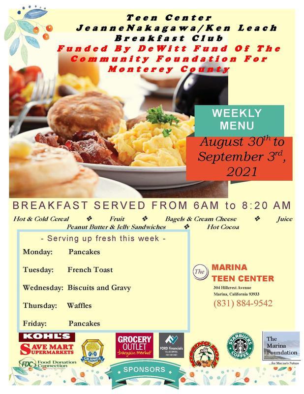 Teen Center Breakfast