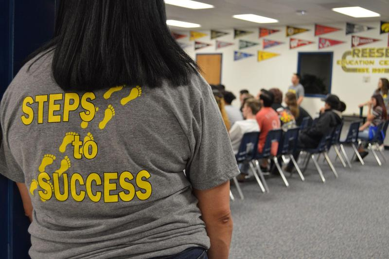 Steps to Success on shirt