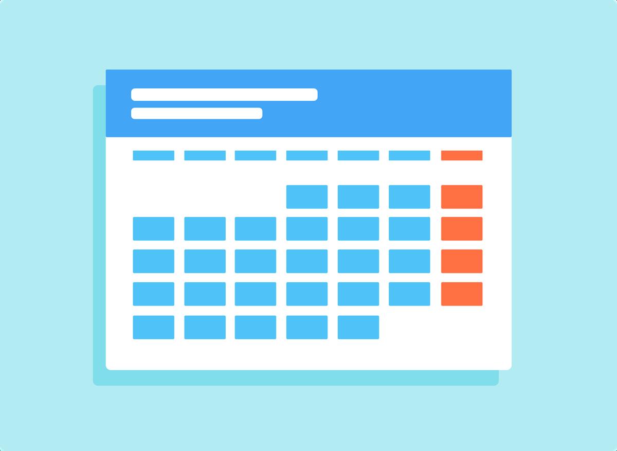 Reopening Calendar