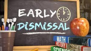 Early Dismissal Reminder