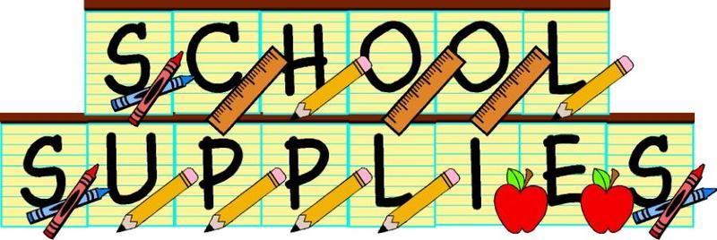 2018-2019 School Supply List Thumbnail Image