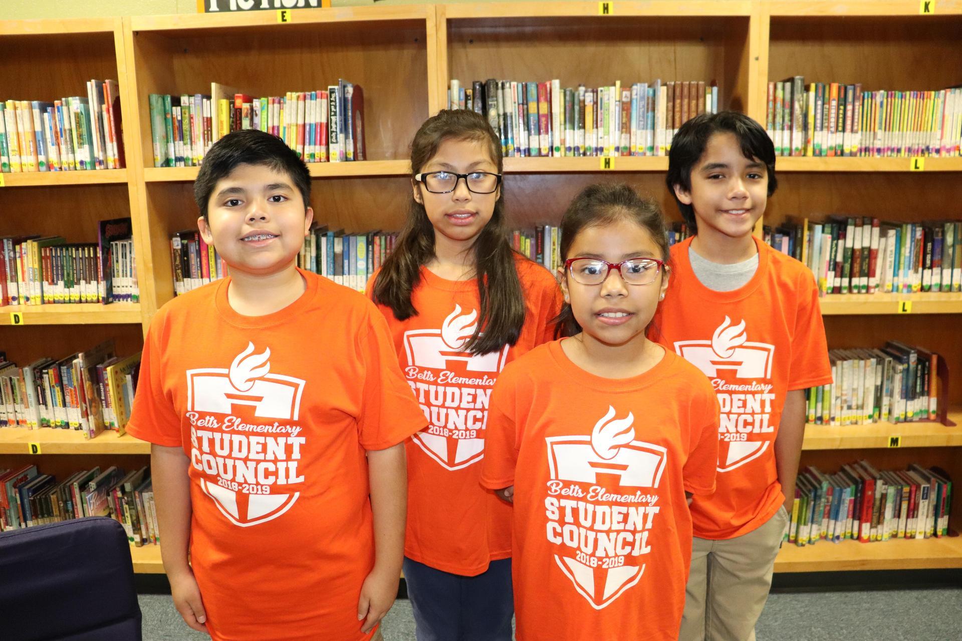 Image of 5th grade Representatives