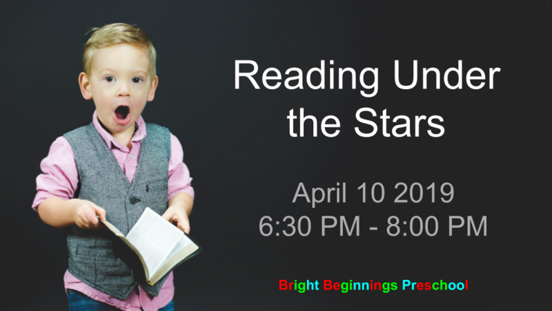 Twinkle! Twinkle! Little Star.  Join us for night time stories Thumbnail Image