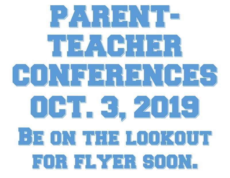 Parent Teacher Conferences Oct. 3, 2019 Thumbnail Image
