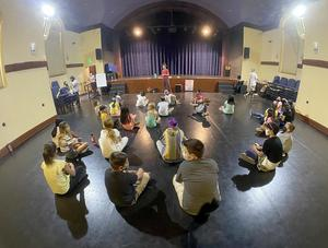 Ukiah Unified students at SPACE Dance Class 1