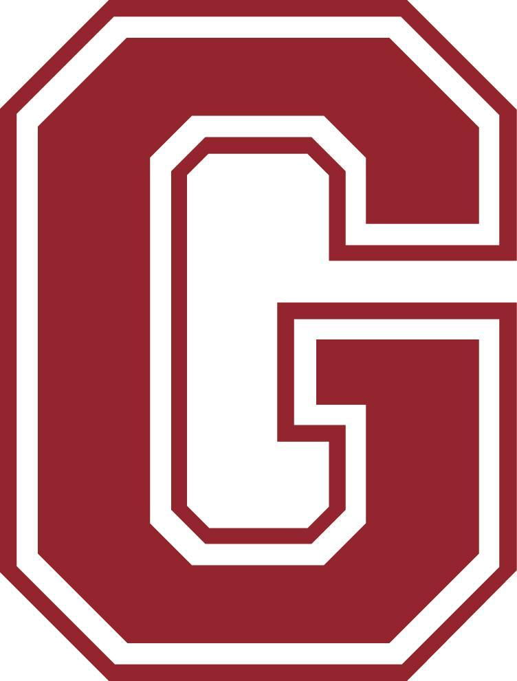 Grandville Schools maroon logo