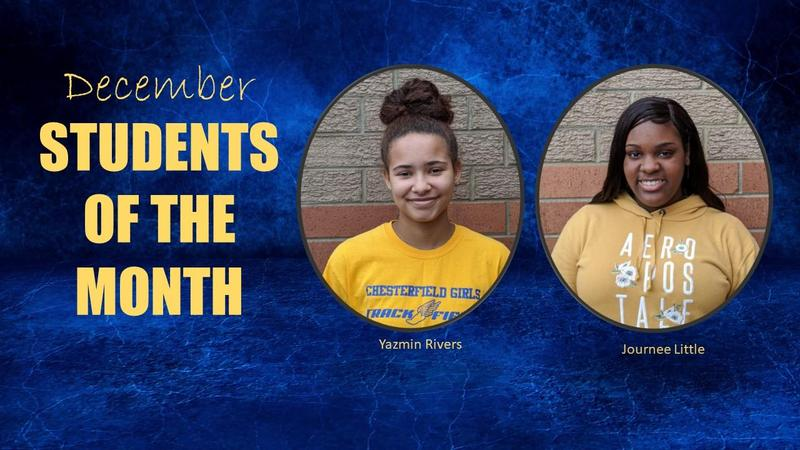 December Students of the Month Featured Photo